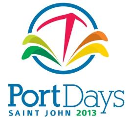 2013 Port Days Logo (Vertical)